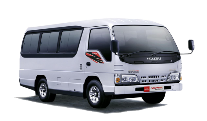 Sewa Mobil ELF Long 19 Seater